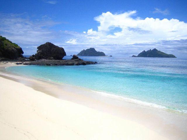 <斐济4晚Matamanoa度假村2晚国际五星度假村>一岛一酒店,私密绝佳,含往返船票和中文接送,更有蜜月惊喜礼品