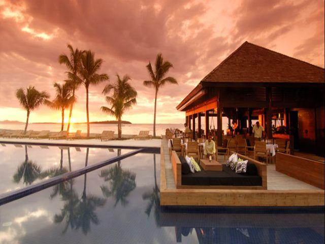 <斐济6晚希尔顿度假村>国际五星酒店,180度海景房,中文服务,含接送2次