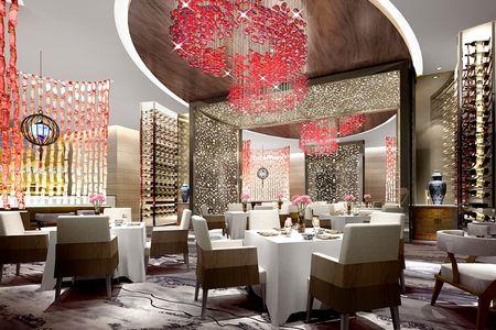 武汉万达嘉华酒店 中餐大厅 效果图高清图片
