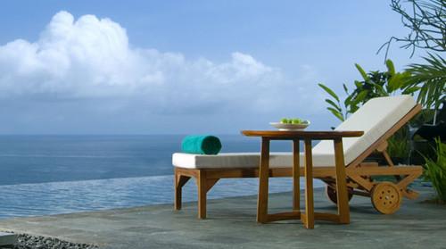 巴厘岛悦榕庄4晚6日自助游>悬崖绝景,独栋别墅,10米超长私人泳池