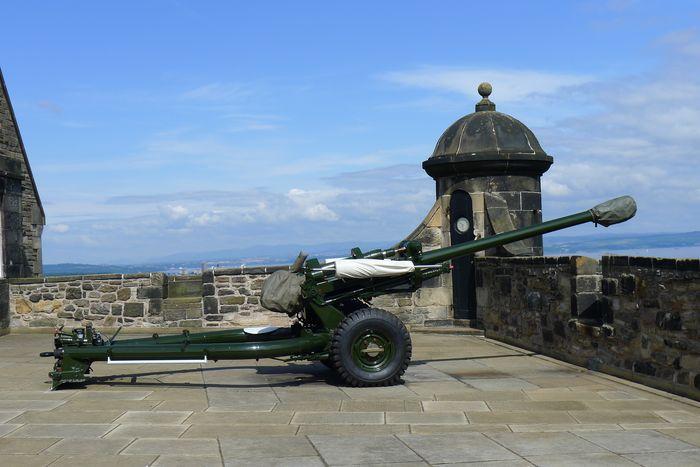 漫步爱丁堡城堡