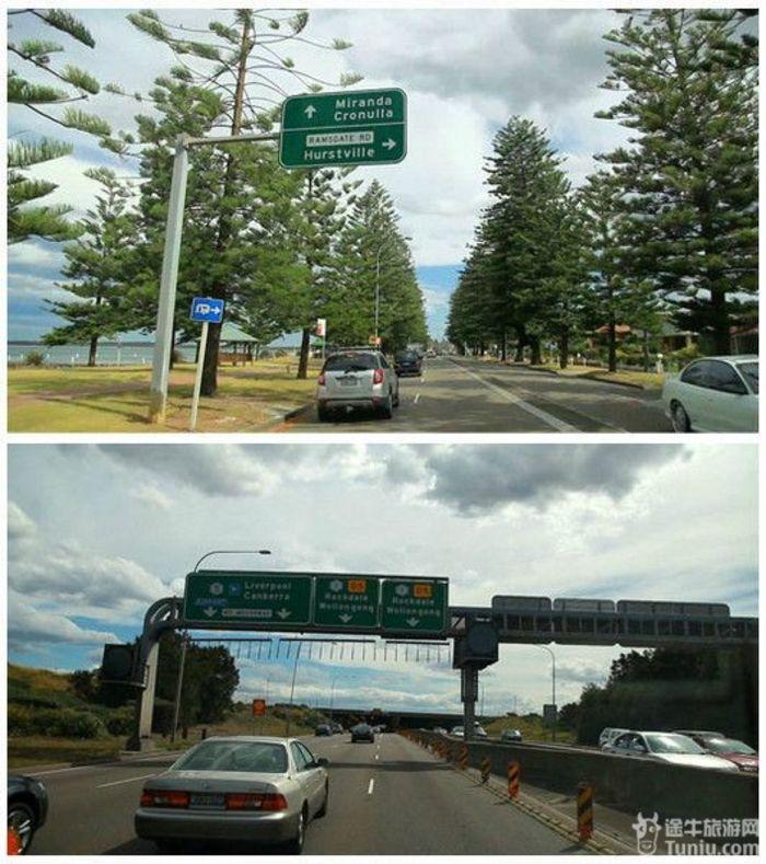 另外关于澳洲的收费公路,大部分的公路是不收费的,但是城市里的部分路会收费。如果开车经过了收费路,是需要自己联系公路公司去缴费的,而且各条路还是隶属于不同的公司。这边是比较建议直接在租车公司购买收费公路的一次性收费,大概40澳左右,这样你就可以无所顾忌的开车四处趴趴走了。我们当时觉得贵,想说应该可以避开收费路,大不了就自己打电话去缴费,一条收费路也就3澳左右,结果血泪的教训啊,回国后信用卡被扣了75澳的罚款,说是某天走了某条收费路,未缴费~~