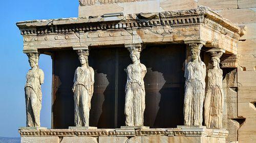 达芬奇手绘希腊神殿