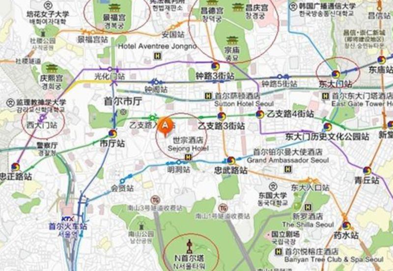 首尔旅游地图--世界杯体育场