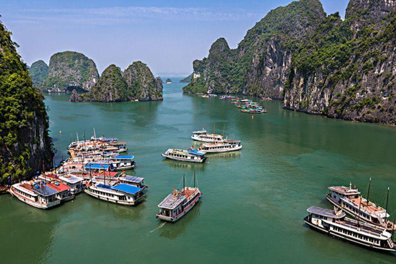 越南旅游_越南下龙湾简介_越南景点介绍图片