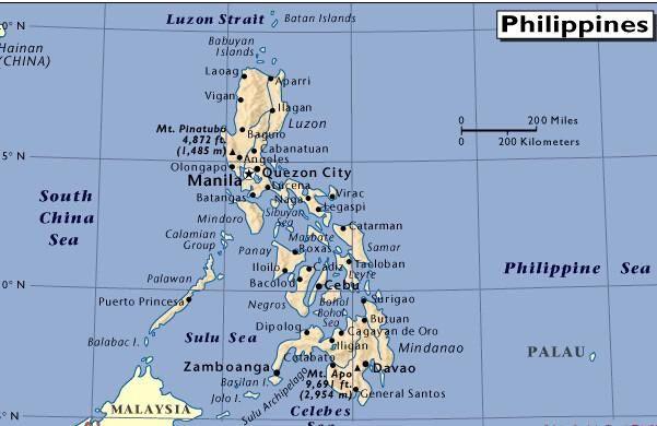 菲律宾的旅游地图_菲律宾旅游攻略_菲律宾旅游岛屿景点介绍