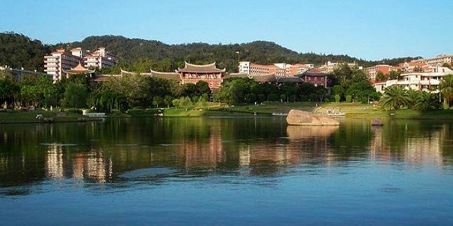 厦门大学风景图片