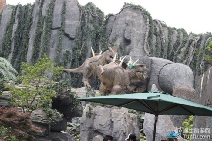 常州中华恐龙园和南山竹海
