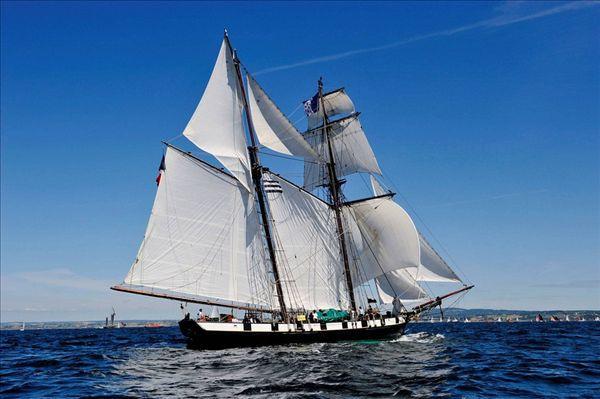 船 帆船 600_399