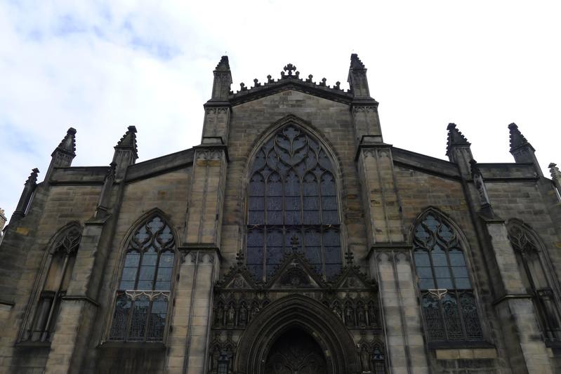 一英里大街和圣嘉尔斯教堂