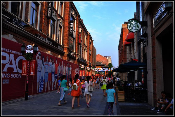 武汉楚河汉街开街图片