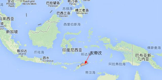 东帝汶风景图片