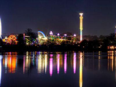 海德公园夜色