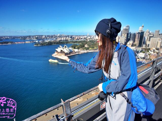 【爱上悉尼每一秒】 爬悉尼海港大桥的经典一刻