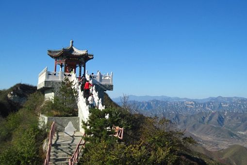 1,北京灵山自然风景区 灵山景区 灵山风景区 ,位于 门头沟 高清图片