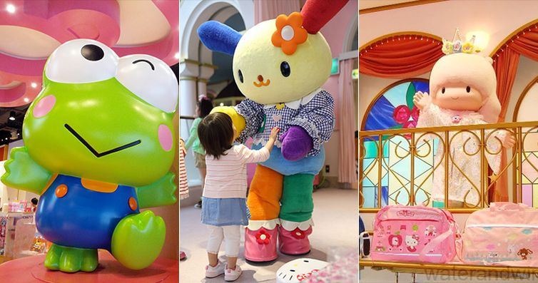 日本东京凯蒂猫主题乐园