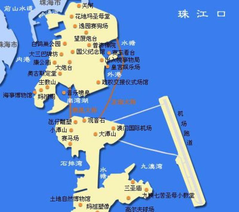 澳门旅游地�_澳门旅游地图_澳门地图_澳门地图选择