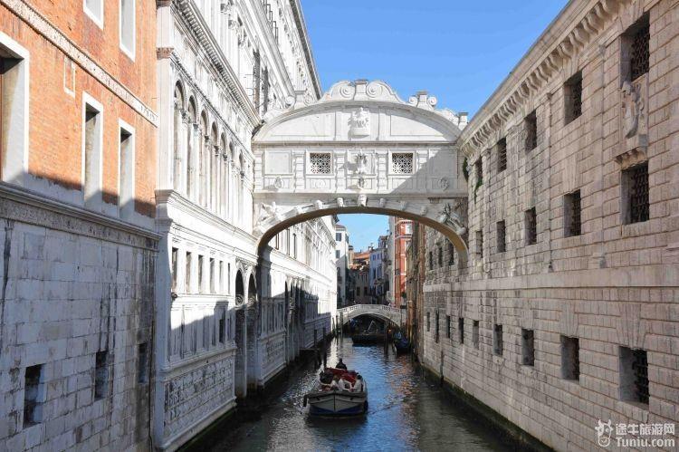 威尼斯河道平面图