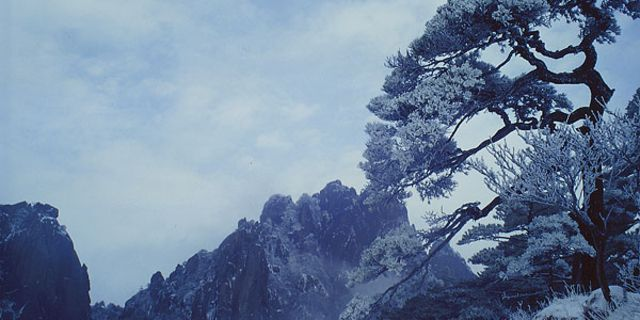 天都峰风景图片