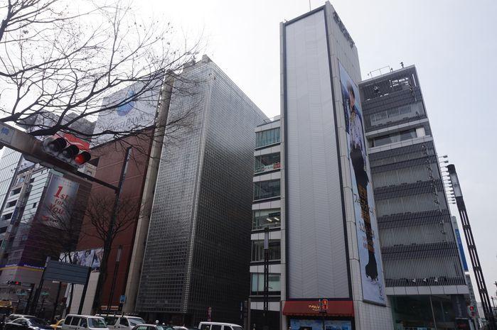 东京建筑与文化体验(一)——新宿、银座、六本木 - 倪昭 - 倪昭的博客
