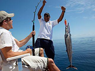 马尔代夫海上垂钓