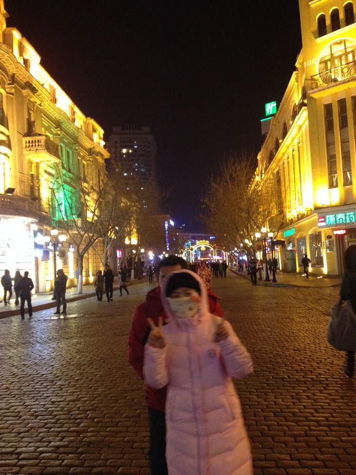 壁纸 步行街 街道 街景 商业街 夜景 700_933 竖版 竖屏 手机