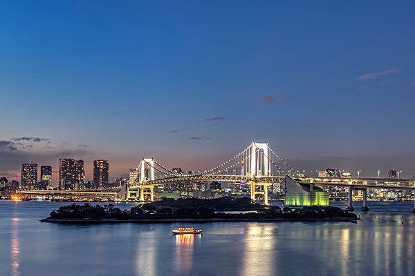 东京景点分布范围 东京景点分布地图 东京景点分布线路