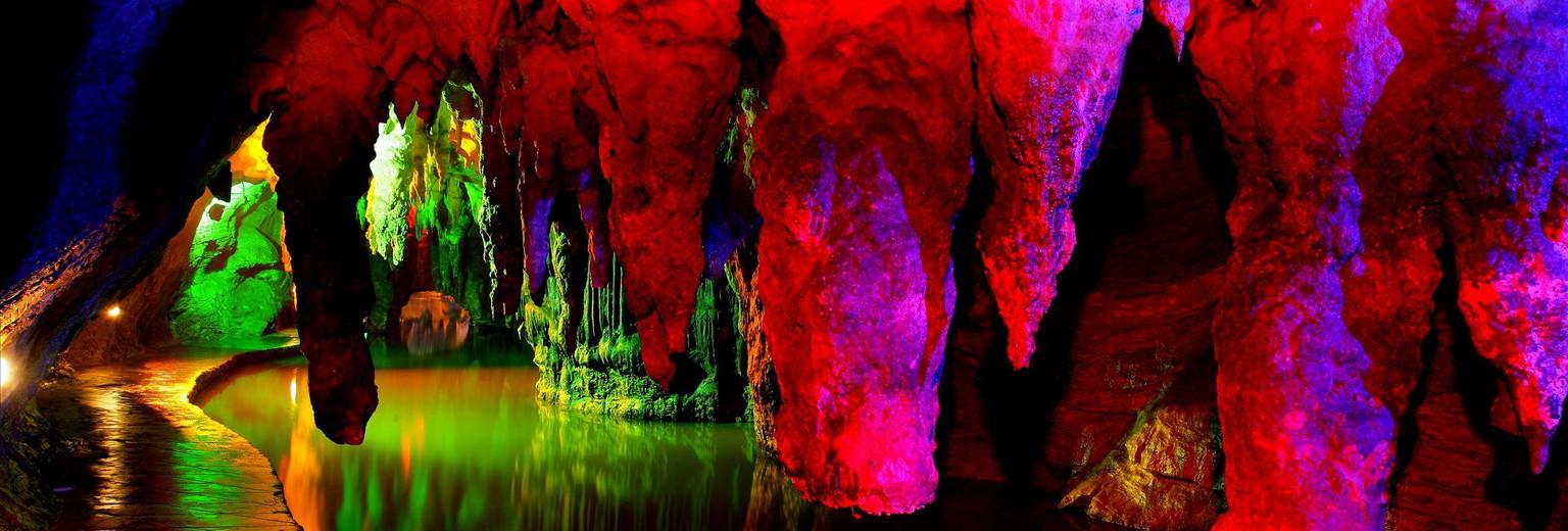 连州地下河图片