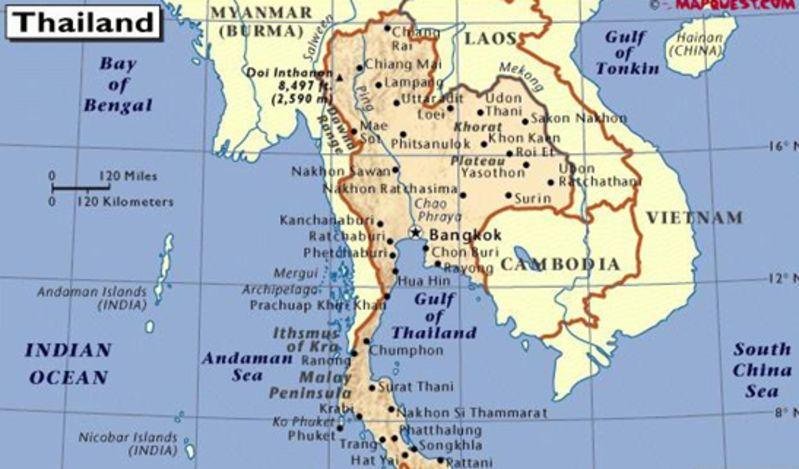 泰国清迈景点地图_享受清迈异地风光_泰国清迈景点