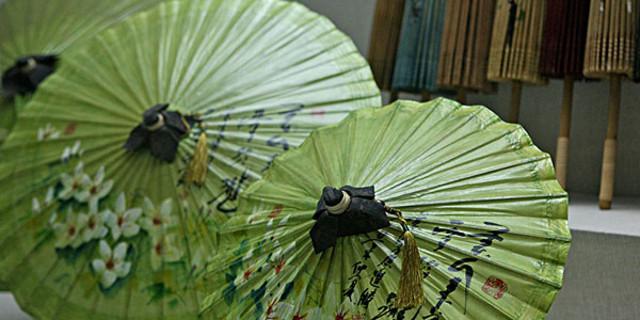 做纸伞的步骤图片