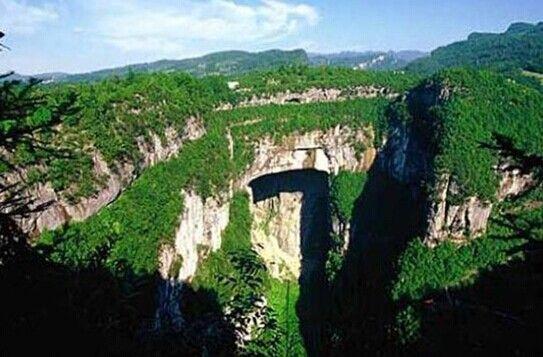 武隆天坑三桥门票 武隆天坑三桥简介 武隆天坑三桥开放时间