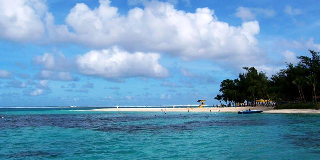 军舰岛风景图片