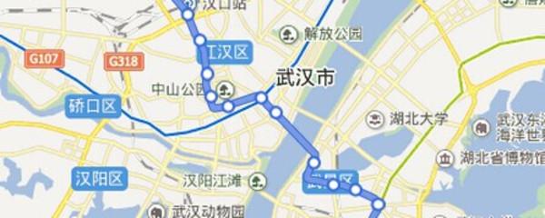 武汉地铁二号线 武汉地铁二号线简介 武汉地铁二号线首车时间图片