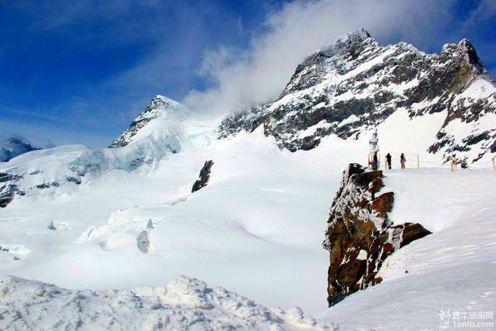【德奥瑞】雪山、湖泊、瀑布、古堡、宫殿……摄影文字...【多图】_铁力士山游记