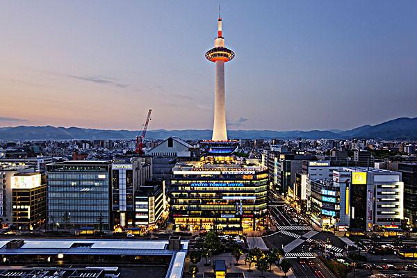京都塔旅游攻略_京都塔地理位置简介_京都塔建筑风格