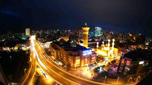 乌鲁木齐城市夜景
