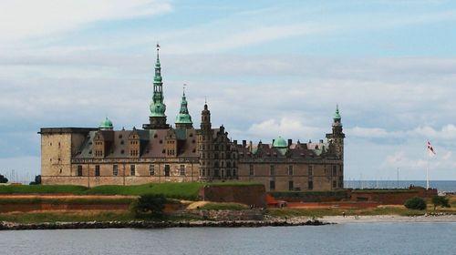 北欧城堡矢量图