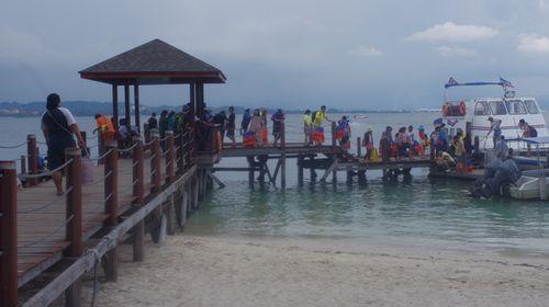 沙巴4晚5日半自助游>海岛浮潜,特色海鲜餐或其他,海上日落,2天自由活