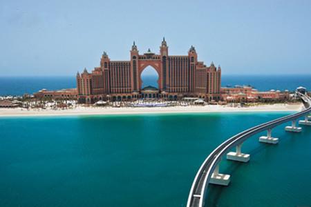 [春节]<迪拜-阿布扎比6日游>纯玩0进店,全程5星升级1晚7星帆船酒店,含爱马仕护理套装和维迪水世界,加长车游迪拜,阿提哈德登塔,北京直飞A380