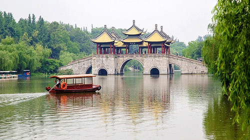 扬州何园-东关街-瘦西湖风景区自驾2日游>宿扬州香格里拉大酒店