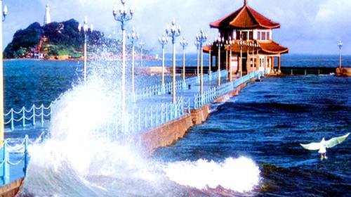 青岛极地海洋世界-石老人浴场-栈桥-海上观光双高3日游>2晚连住,海上