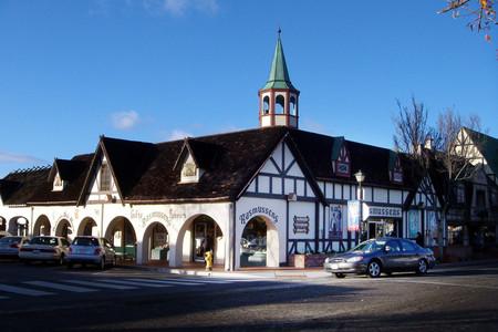 【丹麦村小镇】漫步田园小镇街道欣赏欧式复古建筑,品尝正宗的丹麦