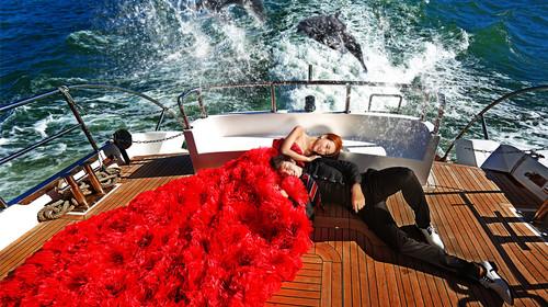 三亚海天旅拍婚纱照千万级电影+游艇蜜月3日游>微婚纱,电影酒店,24近期好看的一线知乎图片