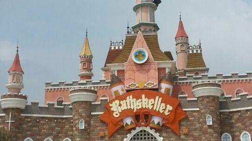 迷你世界城堡步骤图片