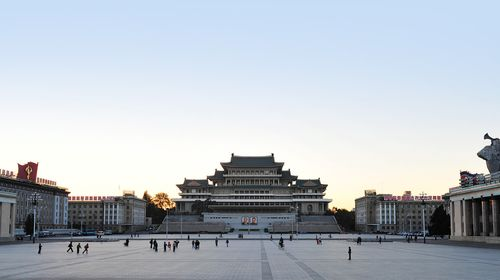 朝鲜5日游>首次郑州直飞朝鲜首都平壤