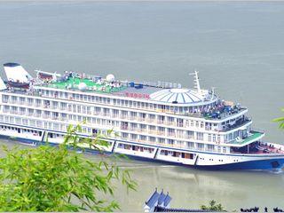 维多利亚游轮_船方统一安排车送茅坪港登维多利亚涉外游轮,开始浪漫的三峡之旅.