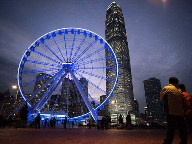 香港中環摩天輪