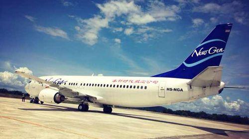 根据航班时间集合前往国际机场搭乘豪华客机飞往乘机飞甲米,到达后乘