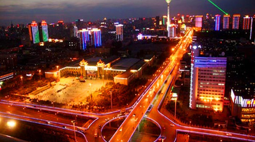 沈阳城市夜景