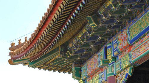 故宫建筑彩绘